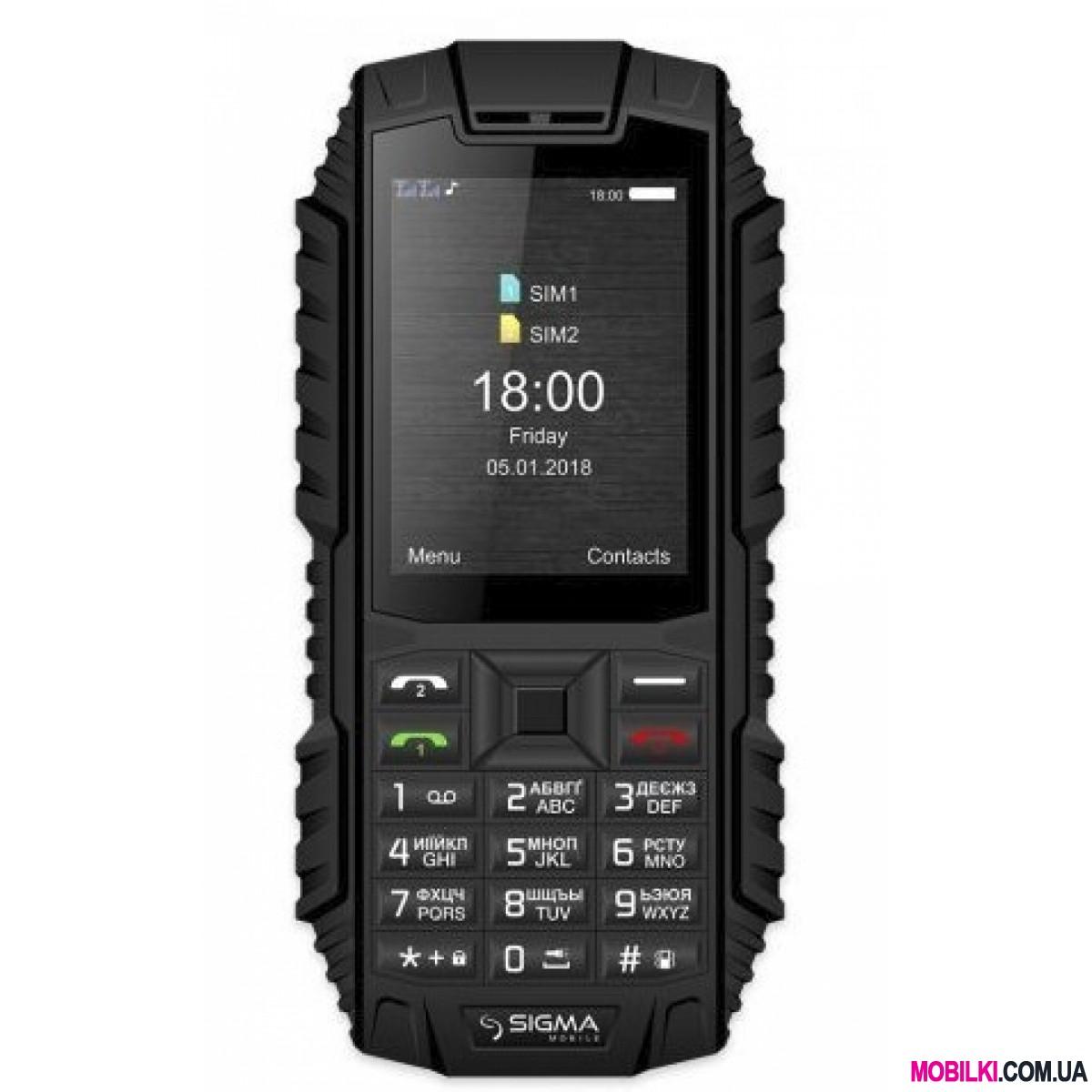 Sigma mobile X-treme DT68